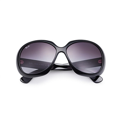 a495a0d5638 Sunglasses - Ray-Ban RB4098-601 8G - Jackie Ohh Ii - Black w Gray ...