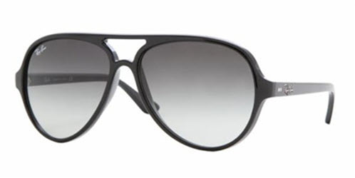 RB4125-601/32 Cats 5000 - Black w/Crystal Grey Gradient lens