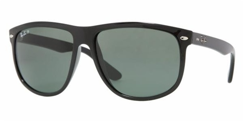 536dce0328d Sunglasses - Ray-Ban RB4147-601 58 - Rb4147 - Black w Crystal Green  Polarized lens