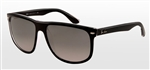 RB4147-603971 Rb4147 - Top Black On Transparent w/Grey Gradient Azure lens