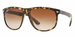 RB4147-710/57 Rb4147 - Light Havana w/Crystal Brown Polarized lens