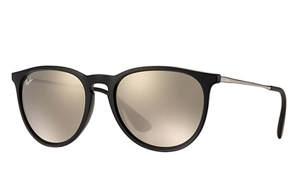 d2982805db Sunglasses - Ray-Ban RB4171-601 5A - Erika - Black w Light Brown Mirror  Gold lens