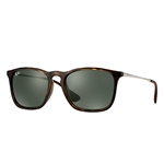 RB4187-710/71 Chris - Light Havana w/Green lens
