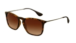 RB4187-856/13 Chris - Rubber Havana w/Brown Gradient lens