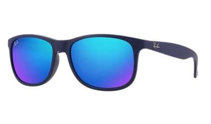 03af7f40ef5 Sunglasses - Ray-Ban RB4202-615355 - Andy - Shiny Blue On Matte Top ...
