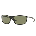 RB4231-601S9A  - Matte Black w/Polar Green lens