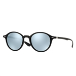 RB4237-601/30  - Black w/Green Mirror Silver lens