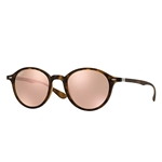 RB4237-894/Z2  - Matte Havana w/Light Brown Mirror Pink lens