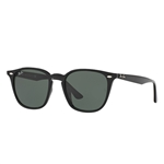 RB4258F-601/71  - Black w/Green lens