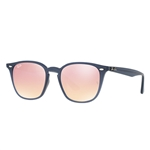 RB4258F-62321T  - Shiny Opal Dark Azure w/Pink Flash Copper lens