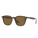 RB4258F-710/73  - Shiny Havana w/Brown lens