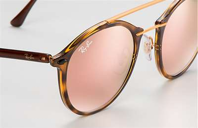 d478d2b186c Sunglasses - Ray-Ban RB4266-710 2Y - - Shiny Havana w Light Brown ...