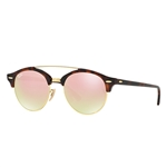 RB4346-990/7O  - Shiny Red Havana w/Copper Flash Gradient lens