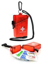 W-WIT-025, First Aid Kit- Waterproof W/ Lanyard
