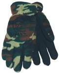 Tillman 1586 Camouflage Polar Fleece Glove With Leather Palm