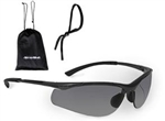Bolle Contour #40045 With Smoke Gray Anti-Fog Lens