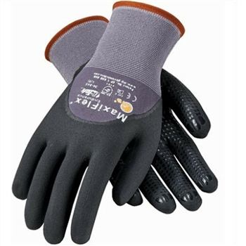 PIP 34-845 MaxiFlex Dotted Palms Micro-Foam Gloves - Sizes SM-XLG