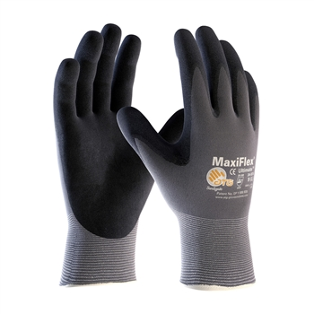 G-Tek MaxiFlex 34-874 PIP Seamless Knit Nylon Gloves - (3 Pairs) - Choose Size!