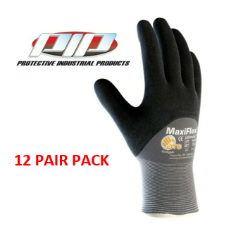 PIP 34-875 MaxiFlex Ultimate Nitrile Micro-Foam Coated Gloves - 12 Pair Pack
