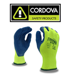 CORDOVA 3889 THERMA-VIZ HIGH VISABILITY YELLOW GLOVES