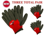 Cordova 3905 Cold Snap MAX Winter Work Glove Lined - 3 Pair Pack