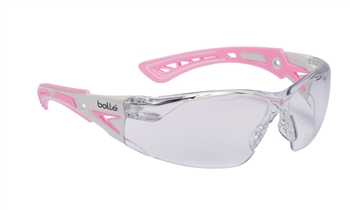 Bolle Rush+ 40254 Pink Safety Glasses