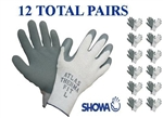 Showa 451 Atlas Therma Fit Insulated Winter Work Glove -12 PAIR- Choose MD,LG,XL