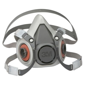3M 6200 Series Half Facepiece Respirators - Medium