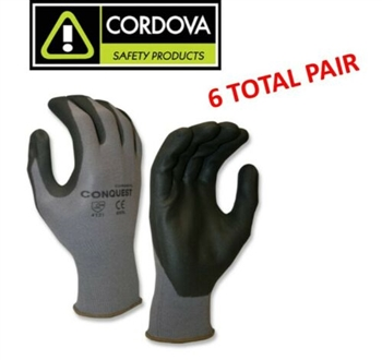 Cordova 6905 Ultimate Maxi Micro Foam Nitrile Coated Flexible Gloves - 6 Pair