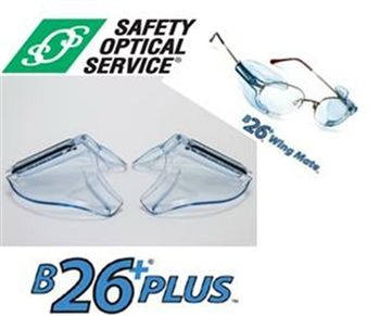 B-26+ Universal ANSI Side Shields For RX Glasses For Smaller Frames