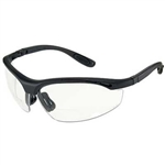 Radians CH1 Cheaters Bifocal Safety Glasses W/Clear Lens & Carry Case