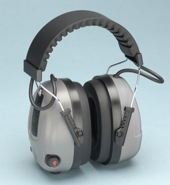 COM655 Elvex Level Dependent Electronic Earmuff 25NRR