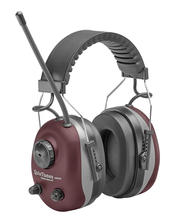 COM660 ELVEX QuieTunes 660 AM/FM Radio Earmuff w/Accessory Slot