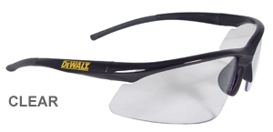 DPG51-1D DeWalt Radius Safety Glasses With Clear Lens