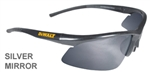 DPG51-6D DeWalt Radius Safety Glasses With Silver Mirror Lens