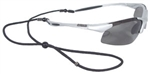 DPG90S-P DeWalt Polarized Glasses W/Gray Lens,Carry Case & Cord.