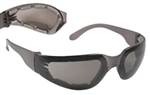 Mirage MRF121ID Foam Lined Safety Glasses with Smoke Anti-Fog Lens
