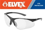 ELVEX RX500 Full Lens Ballistic Rated Magnifier, Choose .50 Up To 2.5 Power