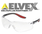 Elvex SG-14C Xenon Safety Glasses, Clear Lens Safety Glasses