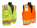 SV6 Surveyors Two-Tone Class 2 Traffic Safety Vest
