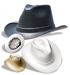 Cowboy Hardhat With Ratchet Suspension VCB200