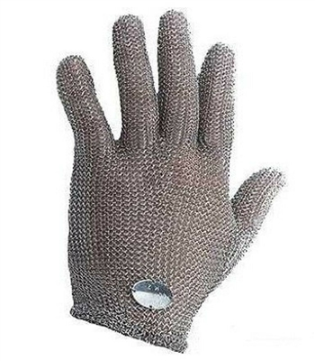 Wells Lamont / Whizard Chain Stainless Steel Mesh Hand Glove - Cut Resistant