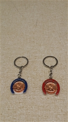 Lucky Penny Key Ring