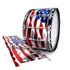 Dynasty 1st Generation Bass Drum Slip - Stylized American Flag