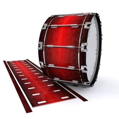 Dynasty 1st Generation Bass Drum Slip - Active Red (Red)