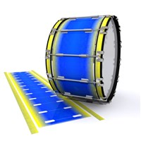 Dynasty 1st Generation Bass Drum Slip - Afternoon Fade (Blue)