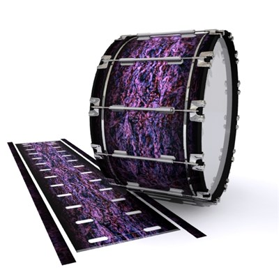 Dynasty 1st Generation Bass Drum Slip - Alien Purple Grain (Purple)