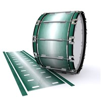 Dynasty 1st Generation Bass Drum Slip - Alpine Fade (Green)