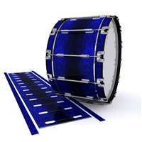 Dynasty 1st Generation Bass Drum Slip - Andromeda Blue Rosewood (Blue)