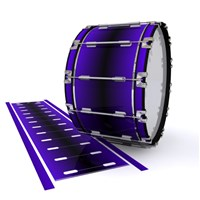 Dynasty 1st Generation Bass Drum Slip - Antimatter (Purple)